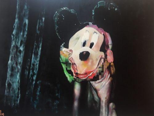 Mutant Mickey Print