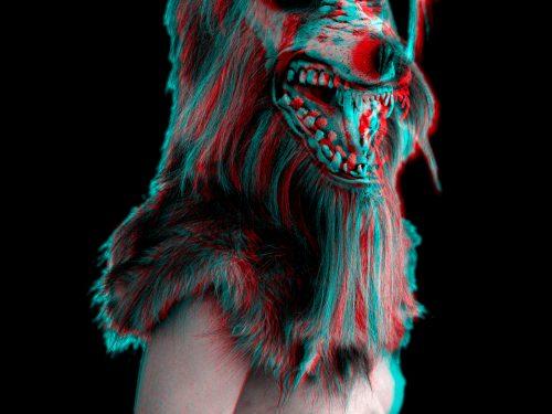Black Wolf A3 Print 3D