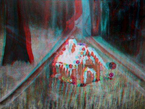 Hans & Gretel House 3D